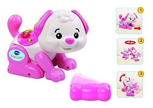 Vtech – hond kleine poten, speelgoed voor baby's, wit (146922) roze