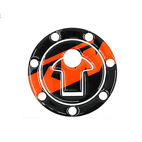 Interesante Etiqueta engomada del tanque de combustible de la motocicleta Motocicleta 3D Reflective Fuel Tank Pegatina Cubierta COK COK MOTORBIKE Decoración Calcomanías para Duke 390 13-14 Duke 200 12