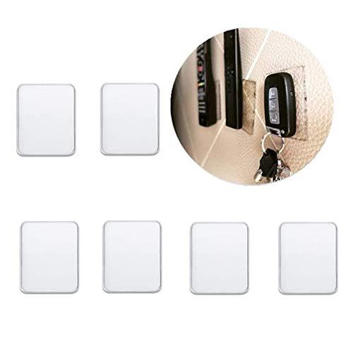 Alfombrillas rectangulares universales adhesivas, de gel antideslizante, transparentes, multiuso, se adhieren a...