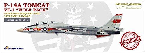 F-14B Tomcat 1/72 Diecast Model, USN VF-1 Wolfpack, NK100, USS Enterprise