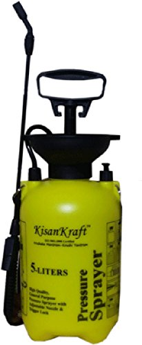 Kisan Kraft KK-PS5000 5-Litre Plastic Manual Sprayer (Colour May Vary)