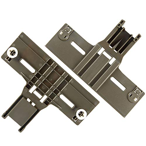 2 Packs UPGRADED W10350376 Dishwasher Top Rack Parts for kenmore,W/ 0.9 In Diameter Wheels Fit Kenmore Whirlpool Kitchen aid Dishwasher Rack Adjuster for w10350374 wdt780saem1 w10311123b kuds30ixbl8