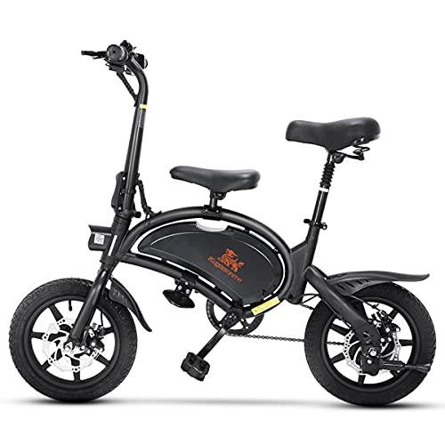 Bicicleta Eléctrica Plegable Velocidad Máxima 45 Km h 14 Pulgadas con Batería de Litio 48V Bici Electrica Urbana Ligera para Adultos - Kirin V1