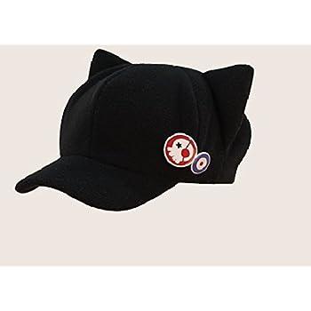 ネコ耳 帽子 バッジ2個付き 惣流 式波 アスカ ラングレー エヴァンゲリオンQ コスプレ