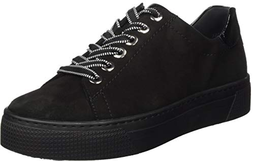 Semler Damen Alexa Sneaker, schwarz,38 EU