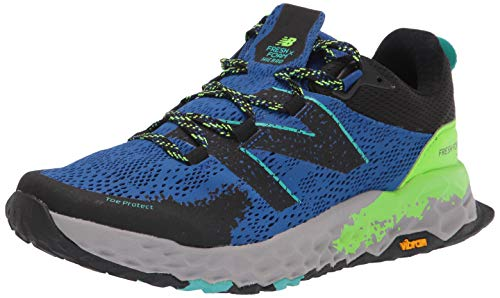 New Balance Hierro V5 Fresh Foam, Zapatillas de Trail Running Hombre, Cobalt Energy Lime, 50 EU