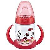 Minnie Mouse des apprenants Bouteille à partir de NUK sans BPA Age 6–18m (Rouge)