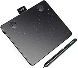 Parblo A640 Drawing Tablet with 8192 Levels Battery-Free Stylus Pen, 7.2