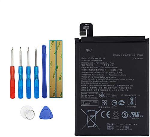 E-YIIVIIL Batería de repuesto C11P1612, compatible con ASUS ZE553KL ZenFone 3 Zoom,...