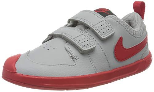 Nike Pico 5 (TDV), Sneaker Unisex niños, Light Smoke Grey/University Red, 19.5 EU