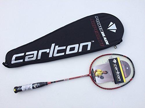 Carlton Badmintonschläger Powerblade Superlite-Red Edition, Schwarz/Rot, One size