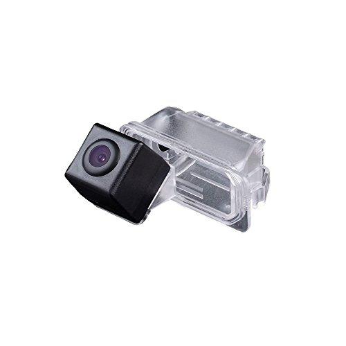 Dynavision Universal Vista trasera cámara CCD Chip para MONDEO / FIESTA MK6 / KUGA / FOCUS S-Max / CHIA-X / Galaxy MK3 /Facelift C307 modelos de coches (Negro)