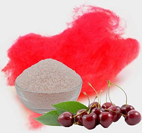 500g Aromazucker Kirsche Rot Zucker für bunte Zuckerwatte Farbaromazucker und Dekorzucker für Zuckerwattemachinen