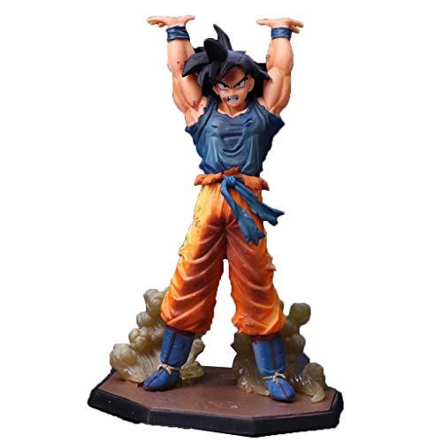 YSYYSH Charakter-Skulptur-Karikatur-Anime-realistische Zahl Dekorations-Muskel-männliches Handwerks-Modell Art Collection Zeichen Statue