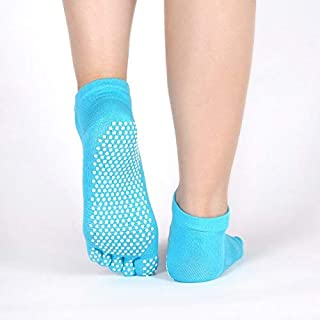 CUSHY hock New Yoga Five Finger Socks Women Yoga Socks Cotton Cotton Non-Slip Soles All refers to Five Toe Socks Foreign Trade: