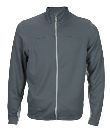 Alo Yoga Men's Light Weight Runners Jacket Grey