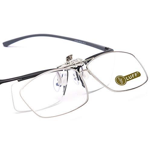 LUFF Lesebrille Clip Lupe Tragbare Clips, geeignet für verschiedene Gläser