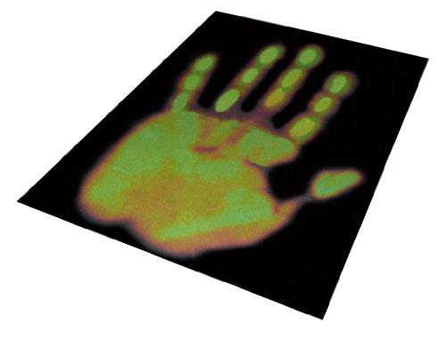 Frühes Forschen Wärmebild durch Thermochromie, Wärmebildkarte
