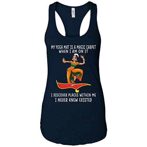 YogaTee My Yoga Mat is A Magic Carpet Best Gifts Tee T-Shirt