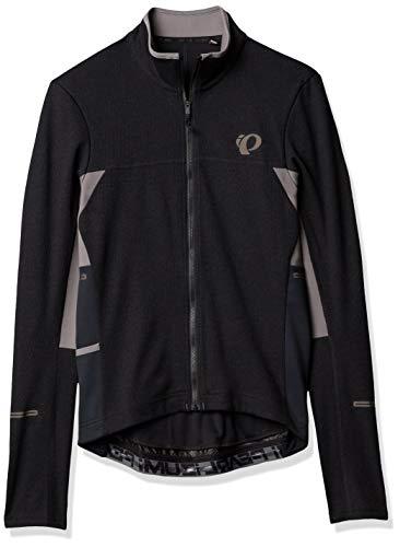 PEARL IZUMI Pro Esc Thermal Jersey, Black/Smoked Pearl, Medium