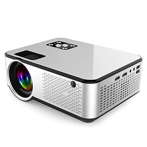 HD del hogar del proyector, proyector 1080p Full HD 4K Cine Proyector de Beamer para la pantalla Puerto Android Wifi HD Mi VGA AV USB Versión del proyector para cine en casa