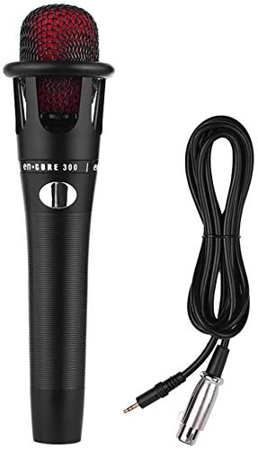 Handbedrade bekabelde condensatormicrofoon Microfoon XLR-kabel 3,5 mm stekker voor KTV Karaoke Zangnetwerk Uitzending Live streaming Uitzending, opname, YouTube