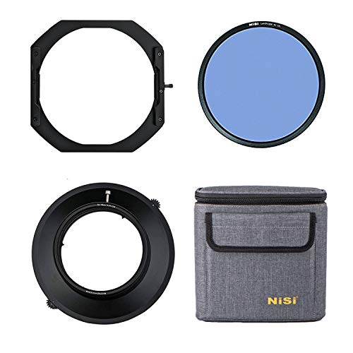 NiSi 150mm S5 Filterhalter für Nikon AF-S 14-24mm F2.8 ED/Nikkor 14-24mm 1:2,8G mit Landschaft NC Polarisationsfilter (Polfilter)