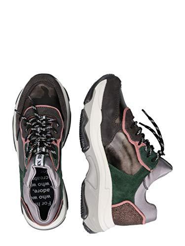Bronx Damen Sneaker Low BAISLEY grün 36