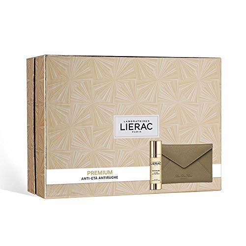 LIERAC Premium La Cure + Cofanetto + Pochette in pelle Rue des Fleurs