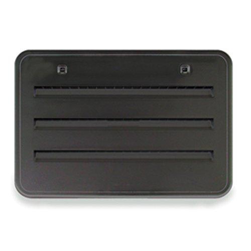 NORCOLD INC 621156BK Black Refrigerator Side Vent