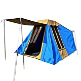 Dream House Large Waterproof Tear Resistant Canvas Multi-Person Family Camping Tent