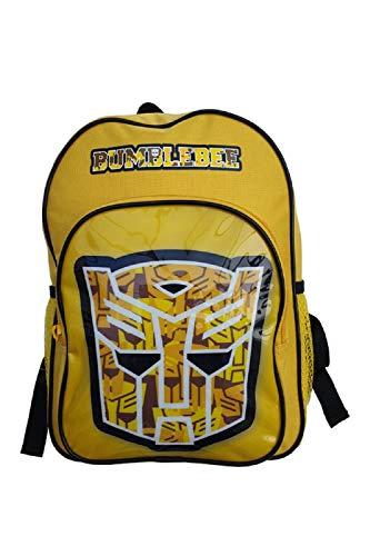 Yellow Bumblebee Transformers Backpack