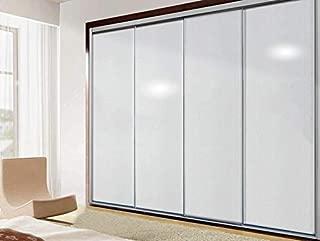 Yirenfeng Armario de la puerta armario empotrado remodelación de muebles de PVC autoadhesivo papel tapiz, B