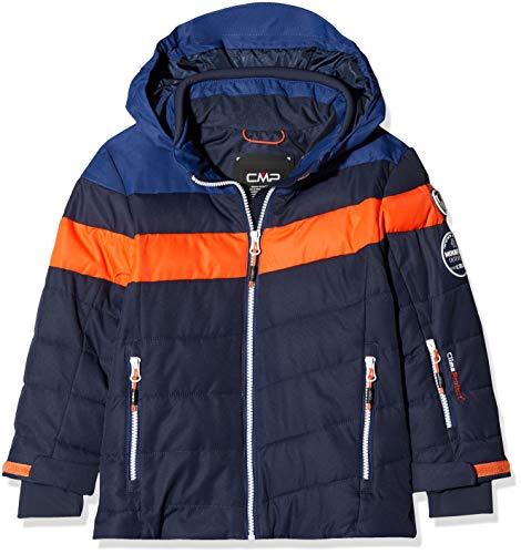 CMP Jungen Skijacke Jacke, Black Blue, 110