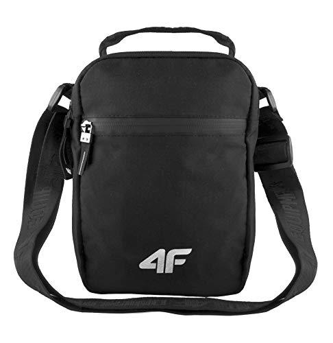 4F Umhängetasche Klein Herren Damen Schultertasche   Freizeittasche Outdoor Handtasche für Handy Tablet