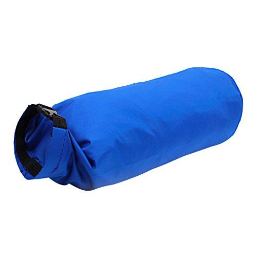 15l Sac Imperméable à L'eau Légère Sec Sac Pour La Navigation De Plaisance Pêche En Kayak Bleu Profond