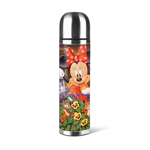 donghu Mouse Stainl botella de agua de acero con doble pared aislada al vacío prueba diseño deportivo,coche portátil viaje té C
