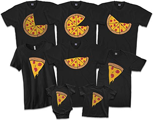 Missing Slice | Son or Daughter Toddler T-Shirt | 4T Black