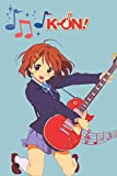 K-On! notebook ; anime notebook ; K-ON journal for girls, boys and kids ; gift for anime lovers, music lovers, guitar notebook , k-on notebook, yui ... Journal - Large (6 x 9 inches) - 110 Pages