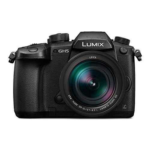 Panasonic LUMIX GH5 4K Mirrorless Camera with Lecia Vario-Elmarit 12-60mm F2.8-4.0 Lens (DC-GH5LK) (Certified Refurbished)