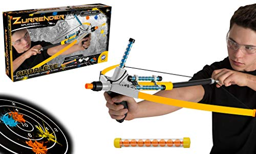 Zurrender Cross Stryker Armbrust Box - Gelb - 742325-83cm - Outdoor Spiel für Kinder ab 8 Jahren