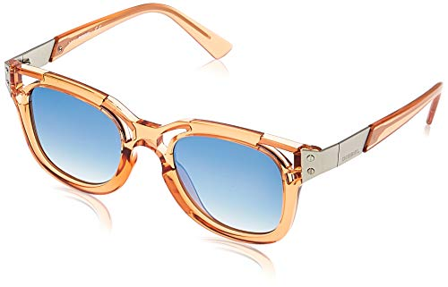 Diesel Sonnenbrille DL0232 4974X Schmetterling Sonnenbrille 49, Orange