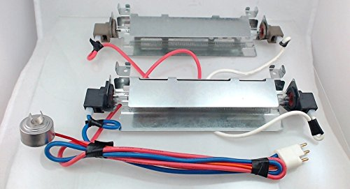Price comparison product image WR51X442 Refrigerator Defrost Heater Kit REPAIR PART FOR GE,  AMANA,  HOTPOINT,  KENMORE AND MORE (Original Version)
