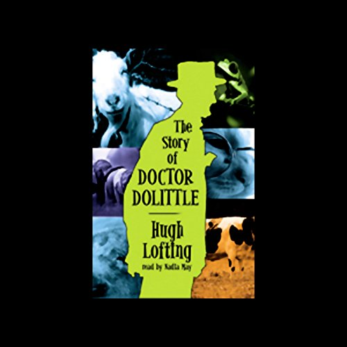 The Story of Doctor Dolittle audiobook cover art