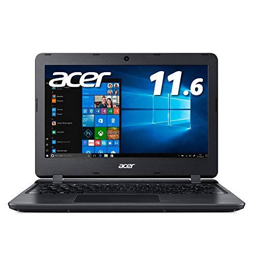 Acer ノートパソコン11.6型 Office搭載 Celeron 4GB 64GB eMMC ブラック Windows10 Home(Smode) Office H&B...