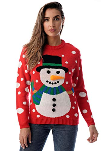 #followme Womens Ugly Christmas Sweater - Sweaters for Women 6773-210-XL
