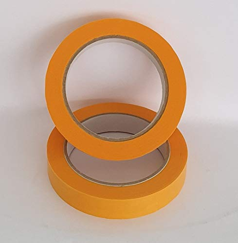 6 Rollen Goldband PLUS 19mm Fineline UV Malerklebeband Malerkrepp Klebeband Tape