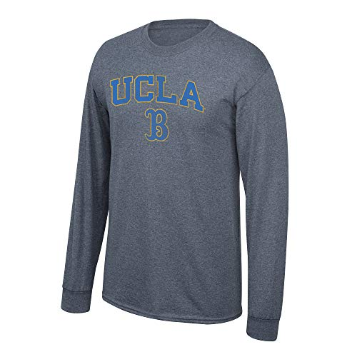 Elite Fan Shop NCAA Langarm-T-Shirt Anthrazit Vintage, Herren, NCAA Long Sleeve T Shirt Charcoal Vintage, UCLA Bruins Dark Heather, XX-Large