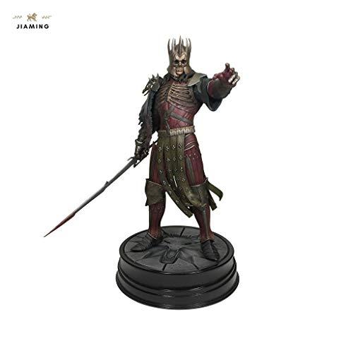 Jiaming The Witcher 3 Wild Hunt: Caza Salvaje Rey Eredin Figura PVC Modelo de Regalos - Alto 7,85 Pulgadas