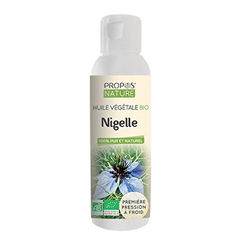 HUILE VEGETALE NIGELLE (CUMIN NOIR) BIO 100 ml